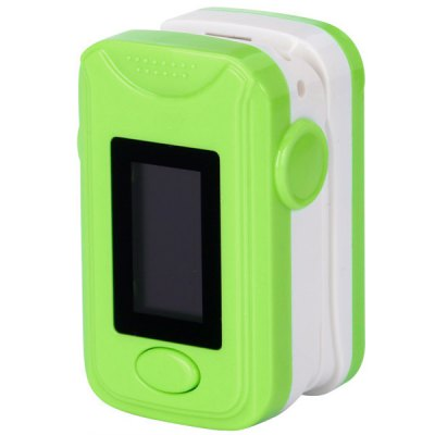 Adjustable Display Brightness Automatic Swithch - off Pulse Oximeter with OLED ScreenOther Consumer Electronics<br>Adjustable Display Brightness Automatic Swithch - off Pulse Oximeter with OLED Screen<br><br>Color: Green, Rose, White, Blue<br>Battery: 2 x AAA batteries (not included)<br>Product Weight : 0.027 kg<br>Package Weight: 0.150 kg<br>Product Size (L x W x H): 5.8 x 3.5 x 3.0 cm / 2.3 x 1.4 x 1.2 inches<br>Package Size (L x W x H): 10 x 7 x 5 cm<br>Package Contents: 1 x Fingertip Pulse Oximeter,1 x Sling, 1 x User Manual