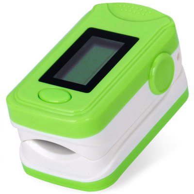 Intelligent Fingertip Pulse Oximeter with OLED Screen