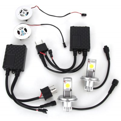 H4 15 - LED 15W 1450lm 6500K White Light Car Rear Lamp Reverse Light Turn Signal Light (10 ~ 30V)