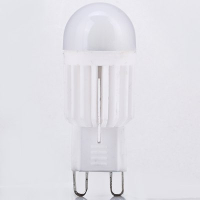 G9 3W COB LED AC220 - 240V 130lm Warm White 3200K Diammable Bulb Lamp
