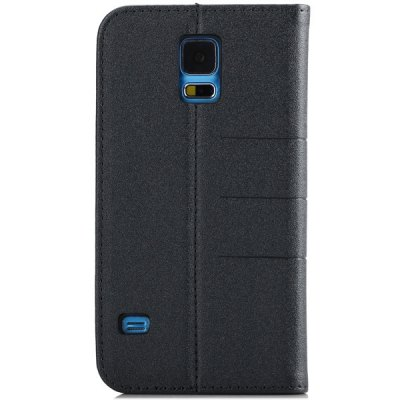 ФОТО Mango Series PU Leather and Plastic Material Stand Case for Samsung Galaxy S5 i9600 SM - G900