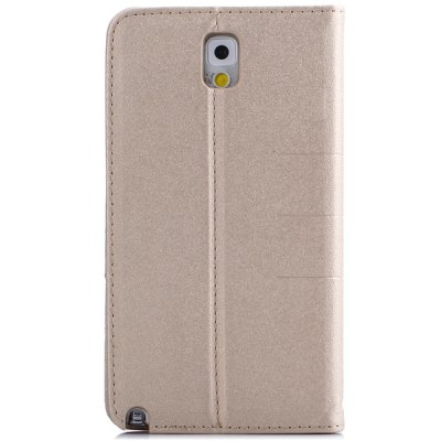 ФОТО Mango Series PU Leather and Plastic Material Stand Case for Samsung Galaxy Note 3 N9000 N9005 N9008