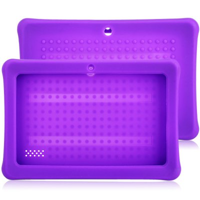 Silicone Rear Cover Protective Case Specially for 7 inch Q8 Tablet PC