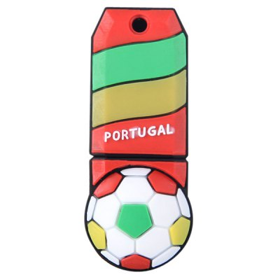 Football Style 4GB Capacity USB 2.0 Flash Drive U Disk for Computer  -  PortugalUSB Flash Drives<br>Football Style 4GB Capacity USB 2.0 Flash Drive U Disk for Computer  -  Portugal<br><br>Capacity: 4G<br>Type: USB Stick<br>Features: Novelty, Metal, Dustproof, Shockproof<br>Style: Sporty<br>Interface: USB 2.0<br>Product Weight: 0.007 kg<br>Package Weight: 0.080 kg<br>Product Size (L x W x H): 4.6 x 2 x 1.5 cm / 1.8 x 0.8 x 0.6 inches<br>Package Size (L x W x H): 10 x 5 x 5 cm<br>Package Contents: 1 x U Disk