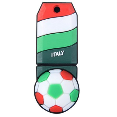 Football Style 4GB Capacity USB 2.0 Flash Drive U Disk for Computer  -  ItalyUSB Flash Drives<br>Football Style 4GB Capacity USB 2.0 Flash Drive U Disk for Computer  -  Italy<br><br>Capacity: 4G<br>Type: USB Stick<br>Features: Novelty, Metal, Dustproof, Shockproof<br>Style: Sporty<br>Interface: USB 2.0<br>Product Weight: 0.007 kg<br>Package Weight: 0.080 kg<br>Product Size (L x W x H): 4.6 x 2 x 1.5 cm / 1.8 x 0.8 x 0.6 inches<br>Package Size (L x W x H): 10 x 5 x 5 cm<br>Package Contents: 1 x U Disk