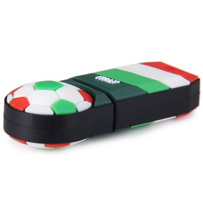 Football Style 8GB Capacity USB 2.0 Flash Drive U Disk for Computer  -  Italy от GearBest.com INT