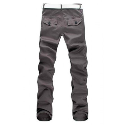 Casual Style Solid Color Zipper Fly Pocket Embellished Straight Leg Mens Cotton Long PantsMens Pants<br>Casual Style Solid Color Zipper Fly Pocket Embellished Straight Leg Mens Cotton Long Pants<br><br>Style: Casual<br>Material: Cotton<br>Fit Type: Regular<br>Waist Type: Mid<br>Closure Type: Zipper Fly<br>Front Style: Flat<br>Weight: 0.480KG<br>Pant Length: Long Pants<br>Pant Style: Straight<br>Package Contents: 1 x Pants