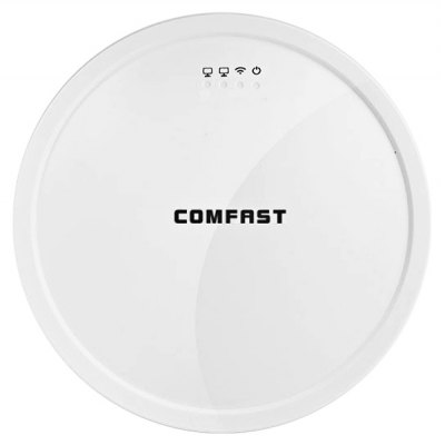 COMFAST CF - E310N 300Mbps Ceiling Wireless Network Repeater Support ADSL / AP / WDS Signal Converter