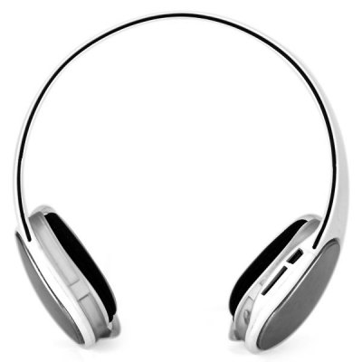 J - 908 Wireless MP3 Music Headphone Ear - hook Headset with FM Function Support TF Card