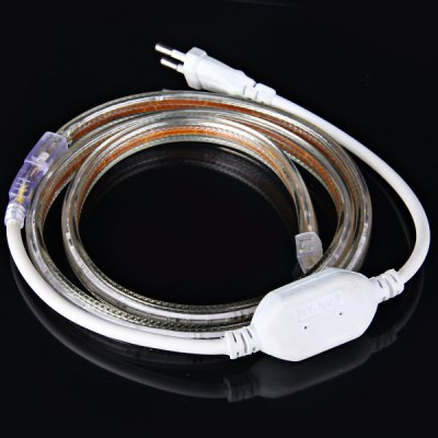 1M 10W 60 - SMD 3014 LED AC220V White Waterproof IP65 Car Decoration Light Strip with EU PlugLED Strips<br>1M 10W 60 - SMD 3014 LED AC220V White Waterproof IP65 Car Decoration Light Strip with EU Plug<br><br>Light Color: Blue, Warm White, White<br>Voltage (V): AC220<br>Output Power(W): 10W<br>Features: Cuttable, Waterproof<br>Length (m): 1 M<br>Number of LEDs: 60 x 3014 SMD LED<br>Product weight: 0.159 kg<br>Package weight: 0.25 kg<br>Product size (L x W x H): 100 x 1.2 x 0.8 cm / 39.4 x 0.47 x 0.31 inches<br>Package size (L x W x H): 20 x 20 x 4 cm<br>Package Contents: 1 x 1M LED Strip Light