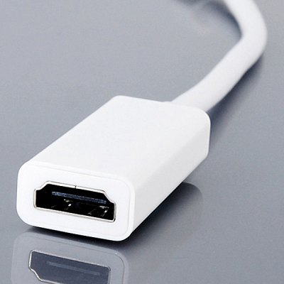 CY DP - 058 Mini DisplayPort to HDMI Compatible with Video