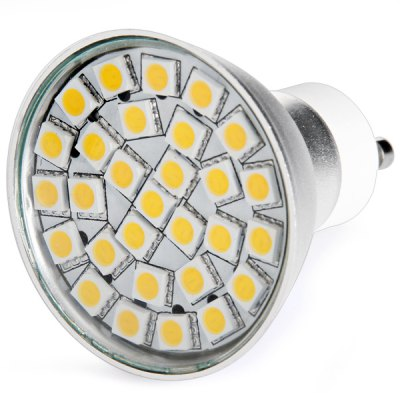 GU10 29 x 5050 SMD LED 6W AC220V 500lm Spotlight with Lamp Shade  -  Warm White Light