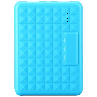 15000mAh Portable Mobile Power Bank with Flashlight of Water Cube Pattern
