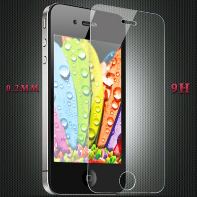 Hello Deere 0.2D Series 0.2mm 9H Hardness Tempered Glass Screen Protector for iPhone 4 4S