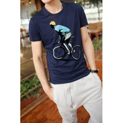 Fashion Style Round Neck Solid Color Flocking Cartoon Print Short Sleeves Mens Cotton Blend T-ShirtMens Short Sleeve Tees<br>Fashion Style Round Neck Solid Color Flocking Cartoon Print Short Sleeves Mens Cotton Blend T-Shirt<br><br>Material: Polyester, Cotton<br>Sleeve Length: Short<br>Collar: Round Neck<br>Style: Fashion<br>Weight: 0.5KG<br>Package Contents: 1 x T-Shirt<br>Pattern Type: Character