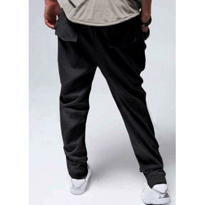 Гаджет   Casual Style Lace-Up Design Solid Color Slimming Personality Pocket Embellished Narrow Feet Men