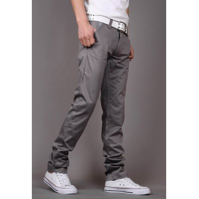 Fashion Style Zipper Fly Solid Color Slimming Houndstooth Embellished Pocket Narrow Feet Mens Cotton PantsMens Pants<br>Fashion Style Zipper Fly Solid Color Slimming Houndstooth Embellished Pocket Narrow Feet Mens Cotton Pants<br><br>Style: Casual<br>Material: Cotton<br>Fit Type: Regular<br>Waist Type: Low<br>Closure Type: Zipper Fly<br>Front Style: Flat<br>Weight: 0.550KG<br>Pant Length: Long Pants<br>Pant Style: Pencil Pants<br>Package Contents: 1 x Pants
