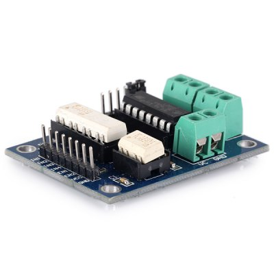 L293 Optoelectronic Isolation Motor Drive Module without Overcurrent Protection