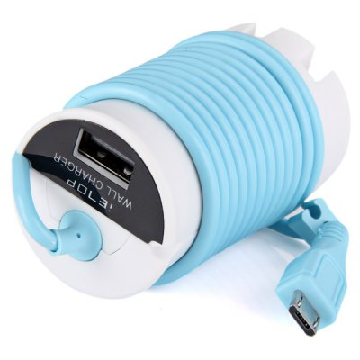 Гаджет   HD - 01 Pocket Life Work Travel USB Charger (US - Plug) for Android iPhone Backberry MP4 USB Gadgets