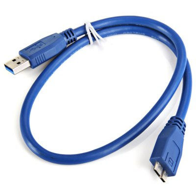 USB 3.0 AM to Micro BM High Efficiency Data Link Cable with 0.5 Meters