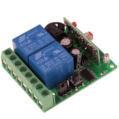 AFSC04 12V Wireless Remote Controller + Receiver (1 x 23A)Home Gadgets<br>AFSC04 12V Wireless Remote Controller + Receiver (1 x 23A)<br><br>Model: AFSC04<br>Material: Plastic, Electronic Components<br>Voltage: 12V<br>Color: Black<br>Product Weight : 32 g<br>Package Weight: 0.140 kg<br>Product Size (L x W x H): 5.0 x 5.0 x 1.7 cm / 2.0 x 2.0 x 0.7 inches<br>Package Size (L x W x H): 13.0 x 11.0 x 5.0 cm<br>Package Contents: 1 x Power switch, 1 x Remote controller, 1 x 23A battery