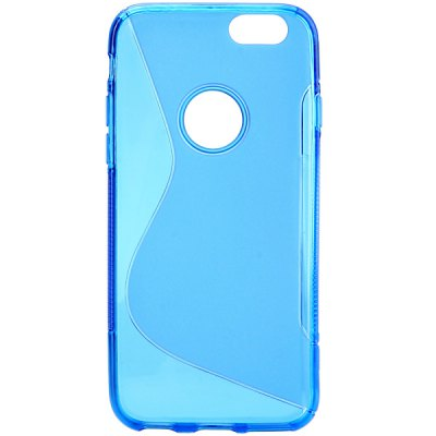 ФОТО Soft TPU Material Pure Color Protective Back Cover Case for iPhone 6