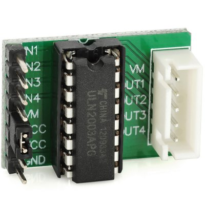D1207005 - 673841 DIY D1207005 Stepper Motor Module for ArduinoOther Accessories<br>D1207005 - 673841 DIY D1207005 Stepper Motor Module for Arduino<br><br>Model: D1207005<br>Material: FR4 board + electronic components<br>Product Weight: 0.006 kg<br>Package Weight: 0.05 kg<br>Product Size(L x W x H): 2.9 x 2.0 x 1.0 cm / 1.1 x 0.8 x 0.4 inches<br>Package Size(L x W x H): 7 x 5 x 3 cm<br>Package Contents: 1 x Stepper Motor Module