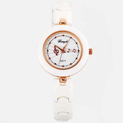Гаджет   Unque Women Watch Analog with Round Dial Steel and PC Watch Band Watches