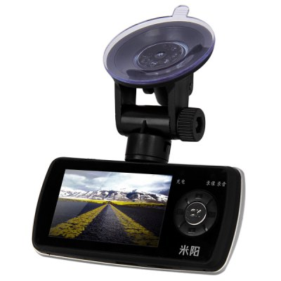 MIYUOG H1 2.7 inch TFT Display Car Black Box Digital Video Recorder 1080P Full HD Car DVR 140 Degree Wide Angle LensCar DVR<br>MIYUOG H1 2.7 inch TFT Display Car Black Box Digital Video Recorder 1080P Full HD Car DVR 140 Degree Wide Angle Lens<br><br>Brand: MIYUOG<br>Model: H1<br>Type : HD Car DVR Recorder, Full HD Dashcam<br>Chipset Name: Novatek<br>Chipset : Novatek 96620<br>Max External Card Supported: TF 32G (not included)<br>Special Function: HDMI output, G-sensor, Microphone, Photograph<br>Battery type: Built-in<br>Capacity : 300mAh 3.7V Li-polymer battery<br>Power Supply: 5V car power<br>Charge Way : Car charger<br>Screen Size: 2.7inch<br>Screen Type: TFT<br>Wide Angle: 140 degree wide angle<br>Camera Pixel: 4.0MP<br>Video Format: AVI<br>Video Resolution : 720P (1280 x 720), 1080P (1920 x 1080)<br>Video System: PAL, NTSC<br>Video Frame Rate: 25fps, 30fps<br>Video Output: HDMI<br>Image Format  : JPG<br>Image Resolution  : 3M (2048 x 1536), 1.3M (1280 x 960), 4M (2592?1728)<br>Audio System: Built-in microphone/speacker (AAC)<br>G-Sensor: Yes<br>HDMI Output: Yes<br>Interface Type: HDMI, TV-Out, USB 2.0, TF card slot<br>Language: Italian, Simplified Chinese, Portuguese, German, French, Spanish, English, Japanese, Traditional Chinese, Russian<br>Frequency: 50Hz, 60Hz<br>Product Weight: 0.062 kg<br>Package Weight: 0.450 kg<br>Product Size (L x W x H): 10.5 x 4.5 x 3.5 cm / 4.2 x 1.8 x 1.4 inches<br>Package Size (L x W x H): 11.0 x 10.0 x 6.0 cm<br>Package Contents: 1 x Car Black Box, 1 x Car Charger, 1 x Bracket, 1 x User Manual