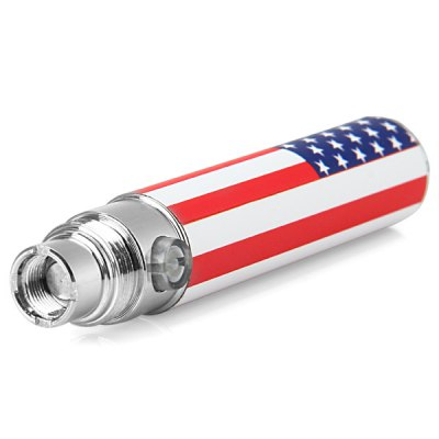 Гаджет   650mAh America Flag Pattern Electronic Cigarette E - cig Battery Suitable for EGO 510 Thread Vaporizer E - Cigarette Other Mods