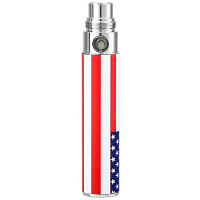 650mAh USA Flag Pattern E-Cigarette Battery