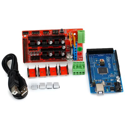 Arduino MEGA2560 RepRap Circuit Sets for 3D Printer Ramps