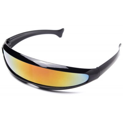 Unisex PC Goggles Frame Resin Lens Cycling Glasses Goggles