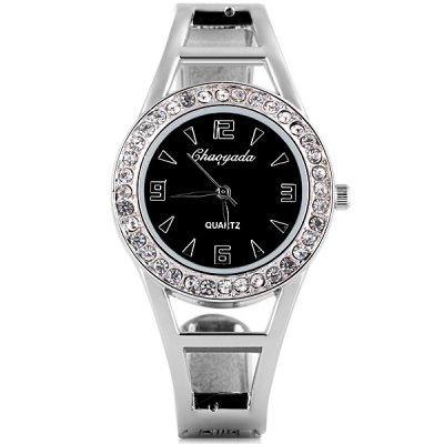 Water Resistant Stylish Women Bracelet Watch Analog with Diamonds Round Dial Steel Watch BandWomens Watches<br>Water Resistant Stylish Women Bracelet Watch Analog with Diamonds Round Dial Steel Watch Band<br><br>Watches categories: Female table<br>Style: Bracelet<br>Movement type: Quartz watch<br>Shape of the dial: Round<br>Case material: Stainless Steel<br>Band material: Stainless Steel<br>Water resistance : Life waterproof<br>The dial thickness: 0.7 cm / 0.3 inch<br>The dial diameter: 3.0 cm / 1.2 inch<br>Product weight: 0.032 kg<br>Product size (L x W x H): 6.0 x 5.3 x 3.3 cm / 2.4 x 2.1 x 1.3 inches<br>Package Contents: 1 x Watch