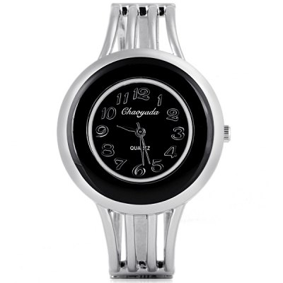 Water Resistant Cool Women Bracelet Watch Analog with Round Dial Steel Watch Band