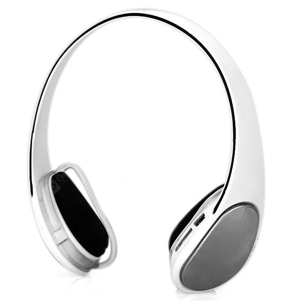 J - 908 Wireless MP3 Headphones Ear - hook Headset with FM Function Support TF Card