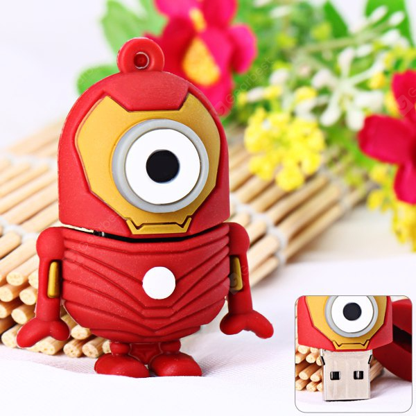 Cartoon Style Transformer Bee-do Pattern 4GB USB 2.0 Flash Memory for Computer NU0247001