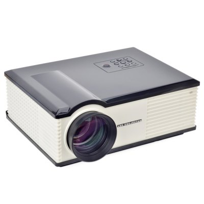 PH580S 220 Lumens 1280 x 800 Pixels HD LCD Projector 2000:1 Contrast Ratio with HDMI VGA TV AV USB Input  -  US PlugProjectors<br>PH580S 220 Lumens 1280 x 800 Pixels HD LCD Projector 2000:1 Contrast Ratio with HDMI VGA TV AV USB Input  -  US Plug<br><br>Model: PH580S<br>Color: White, Black<br>Material: Plastic<br>Display Type: LCD<br>Native Resolution: 1280 x 800<br>Aspect Ratio : 16:9 / 4:3<br>Brightness: 220 Lumens<br>Contrast Ratio: 2000:1<br>Lamp Life: 20000 hours<br>Projection Distance: 2 - 5 m<br>Lens : LED<br>Image Size: 30 - 150 inch<br>Power Supply: 100-240V<br>Lamp: LED<br>Lamp Power: 170 W<br>Interface: HDMI, USB, AV, VGA, TV<br>Product Weight: 3.5 kg<br>Package Weight: 5.5 kg<br>Product Size (L x W x H): 32.5 x 26 x 14 cm / 12.8 x 10.2 x 5.5 inches<br>Package Size (L x W x H): 36 x 30 x 19.8 cm<br>Package Contents: 1 x Projector, 1 x Remote Control, 1 x AV Cable, 1 x VGA Cable, 1 x Power Adapter, 1 x User Manual