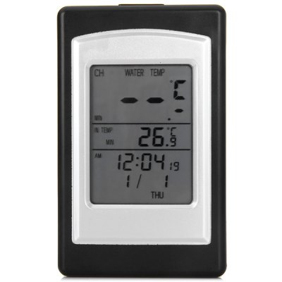 Гаджет   WT0124 433MHz Wireless Waterproof Floating Swimming Pool Thermometer with Solar Power Home Gadgets