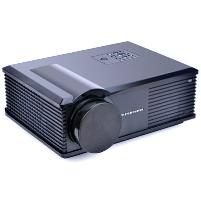 PH580 LCD 3200 Lumens 2000:1 Contrast LED Projector Support HDMI USB TV AV VGA (UK Plug)Projectors<br>PH580 LCD 3200 Lumens 2000:1 Contrast LED Projector Support HDMI USB TV AV VGA (UK Plug)<br><br>Model: PH580<br>Color: White, Black<br>Material: Plastic, Glass<br>Display Type: LCD<br>Native Resolution: 1280 x 800<br>Aspect Ratio : 4:3/16:9<br>Resolution Support: HD 1080P<br>Brightness: 3200 Lumens<br>Contrast Ratio: 2000:1<br>Lamp Life: 30000 hours<br>Projection Distance: 2 - 5 m<br>Lens : Manual Focus<br>Image Size: 30 - 150 inch<br>Power Supply: 110 - 240V/50 - 60Hz<br>Lamp: LED<br>Lamp Power: 140W<br>Interface: USB, HDMI, TV, VGA, AV<br>Other Features: Built-in Speakers (2W x 2), Electronic Keystone Correction<br>Product Weight: 3.5 kg<br>Package Weight: 5.5 kg<br>Product Size (L x W x H): 32.5 x 26 x 14 cm / 12.8 x 10.2 x 5.5 inches<br>Package Size (L x W x H): 36 x 30 x 19.8 cm<br>Package Contents: 1 x Projector, 1 x Power Cord, 1 x AV Cable, 1 x VGA Cable, 1 x Remote Control, 1 x USer Manual
