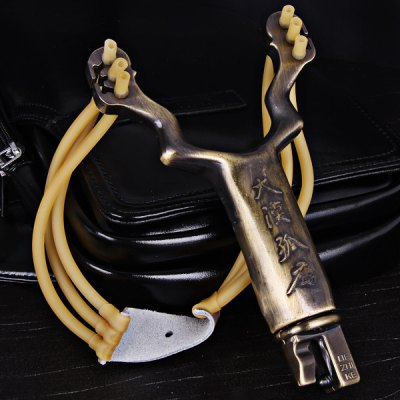 Cheap and Fine Stainless Steel Slingshot Special for Athletics and Competition