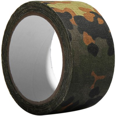 Outdoor Camouflage Adhesive Tape Camo Sticky Tape Camouflage Bandage (10 Meters)