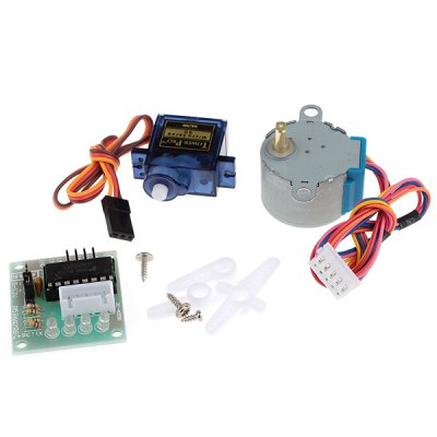 XD06 Arduino DIY UNO R3 RFID Stepper Motor 18 Expansion Module Kit for Learners to DIY