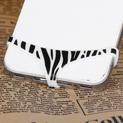 Гаджет   Sexy Silicone Protect Privacy Invention Leopard Print Pattern Design for iPhone 5 / 4 / 4S iPhone Cases/Covers