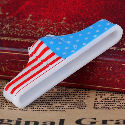 Гаджет   Sexy Silicone Protect Privacy Invention American Flag Pattern Underpants Design for iPhone 5 / 4 / 4S iPhone Cases/Covers