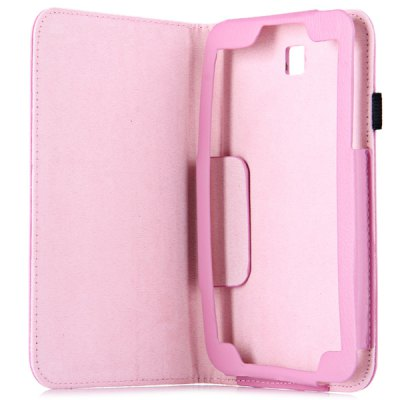 Гаджет   PU Leather Protective Case with Folding Stand Function Specially for 7 inch Samsung T211 T210 P3200 Tablet PC Tablet PCs