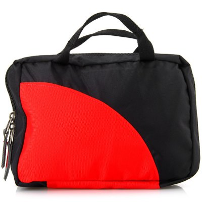 Practical Outdoor First - aid Bag Wash Bag Storage Bag for Travel and Outdoor ActivitiesSurvival<br>Practical Outdoor First - aid Bag Wash Bag Storage Bag for Travel and Outdoor Activities<br><br>For: Vocation, Fishing, Business Trip, Biking, Travel, Camping, Climbing, Indoor, Skiing, Outdoor, Swimming<br>Material: Nylon<br>Functions: Water Resistant, Portable<br>Color: Red, Black<br>Product weight   : 0.16 kg<br>Package weight   : 0.21 kg<br>Product size (L x W x H)   : 23 x 17 x 4 cm / 9 x 6.7 x 1.6 inches (fold size)<br>Package size (L x W x H)  : 24 x 18 x 2.5 cm<br>Package Contents: 1 x First-aid Wash Bag
