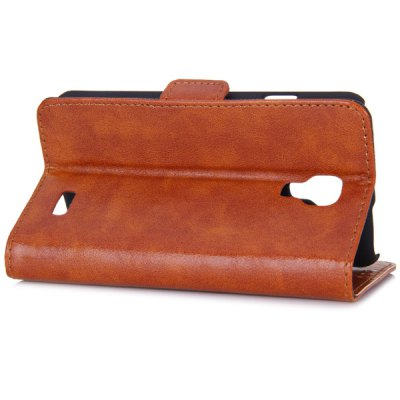 Гаджет   Oily Sense of Touch PC and PU Cover Case with Support and Card Holder for LG F70 Other Cases/Covers