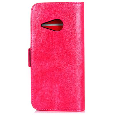 Oily Sense of Touch PC and PU Cover Case with Support and Card Holder for HTC M8 miniCases &amp; Leather<br>Oily Sense of Touch PC and PU Cover Case with Support and Card Holder for HTC M8 mini<br><br>For: Mobile phone<br>Compatible models: HTC M8 mini<br>Features: Cases with Stand, With Credit Card Holder, Full Body Cases<br>Material: PU Leather, Plastic<br>Style: Special Design<br>Product weight: 47 g<br>Package weight: 0.120 kg<br>Product size (L x W x H) : 14.1 x 7.5 x 1.8 cm / 5.6 x 3.0 x 0.7 inches<br>Package size (L x W x H): 18 x 10 x 4 cm<br>Package Contents: 1 x Case