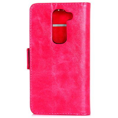 Гаджет   Oily Sense of Touch PC and PU Cover Case with Support and Card Holder for LG G2 mini Other Cases/Covers